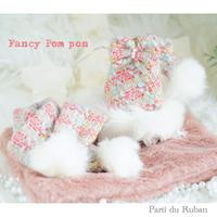Fancy Pom pon サンタ帽
