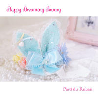 Happy Dreaming Bunny Blue