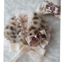 《リクエスト再販》Bambi  fur tippet &ヘアクリップ