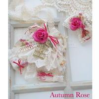 Autumn Letter -Autumn Rose-チョーカーヘアクリップ