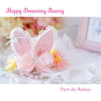 Happy Dreaming Bunny Pink