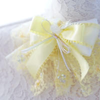 Love  parade choker yellow