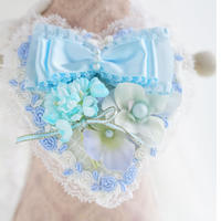 Dreaming  Heart  rose Blue