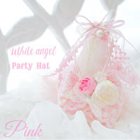 White angel Party  Hat