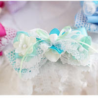 Dreaming  butterfly choker mint