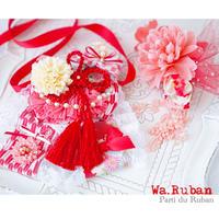 《Wa.Ruban》矢羽 紅 チョーカー&ヘッドアクセ