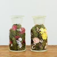 GLASS ART(moss&flower)
