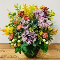 【2月・3月限定】季節の花のアレンジメント(L)