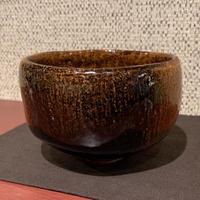 飴釉茶碗(大樋年朗)/ 181228-6