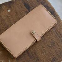 ヌメ革の長財布
