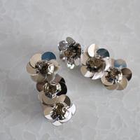 metallic 3Flower pierce