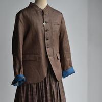 R&D.M.CO-  linen denim SURTRISE jacket