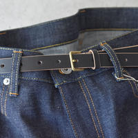 R&D.M.CO- CANVAS LINEN NARROW BELT