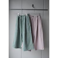 R&D.M.CO-    linen corduroy gom pants
