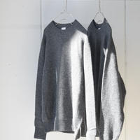 phlannel SOL   wool cashmere crew neck knit