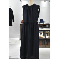 R&D.M.CO-  chambray tuck gather dress