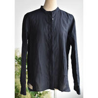 R&D.M.CO-  chambray stand collar  shirt