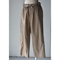 TOUJOURS      CROPPED EASY FIELD TROUSERS
