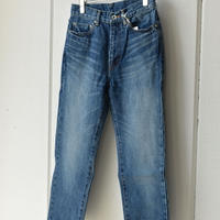 NARROW STRAIGHT denim pants vintage like