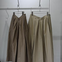 R&D.M.CO- light moleskin tuck culotte