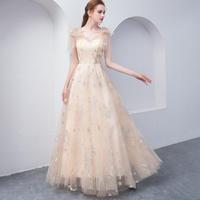 ロングドレス パーティードレス 結婚式 二次会 ワンピース 結婚式ドレス お呼ばれワンピース 20代 30代 40代 ブルー 刺繍 シフォン