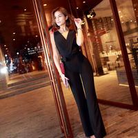 パーティードレス パンツ 結婚式 二次会 パンツドレス 結婚式ドレス お呼ばれドレス 20代 30代 40代 ロングドレス 黒 レース 刺繍