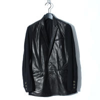 Sheep Leather Switching Jacket / BLACK 2904901