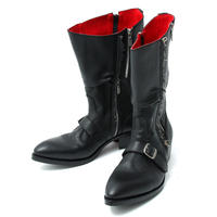 Zip Engineer Boots / BLACK 2902604