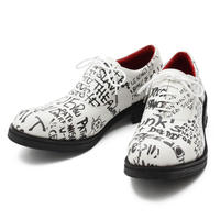 Message Print Shoes / WHITE 2904604