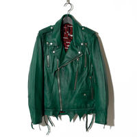 -Atelier sale-Zip Leather Rider's / GREEN 2902304