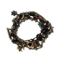 Pirate's Necklace Bracelet / BLACK 2902714
