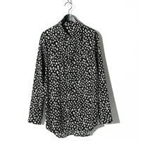 Leopard Pattern Shirt / BLACK 2903602