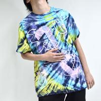 tie-dye graffiti-art tee shirts [T-0045]