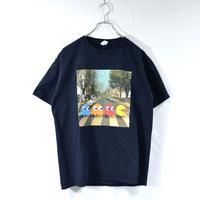 old pac-man printed tee shirts [T-0041]