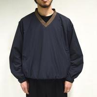 V-neck training nylon pullover[T-0037]