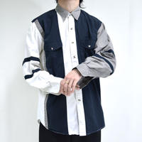 button-down switch-lined shirts [T-0057]