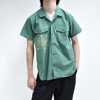 embroidery working half-sleeve shirts [T-0058]
