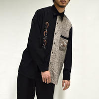 switch embroidery shirt[T-0036]