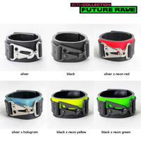 TRIANGLE nascan leather bracelet