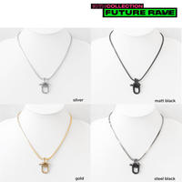 INDUSTRIAL SHACKLE short  necklace