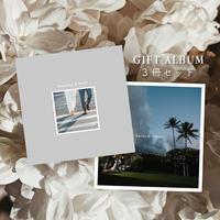 photo album  - 3冊 -