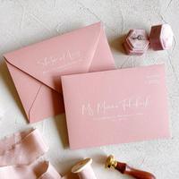 envelope |  宛名 / 別納印 / 差出人印刷込み 10部