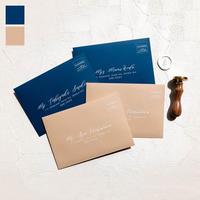 単品 envelope (宛名 / 別納印 / 差出人印刷込み)