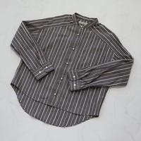 オーガニックコットンブロードストライプシャツ 【BB01-108】