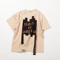 スワイースワイ天竺 TAPEプリント半袖Tシャツ【BB11-911】