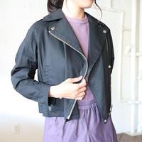 ストレッチブロードライダースブルゾン【BB81-502】