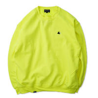 Chest Logo Sweat - Neon Yellow