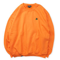 Chest Logo Sweat - Orange