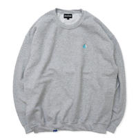 Chest Logo Sweat - Gray