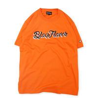 S/S BF Written Logo Tee - Orange